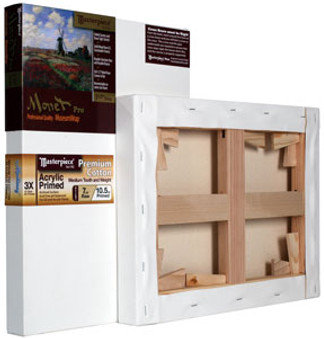 Masterpiece Monet Pro Monterey Acrylic Primed Canvas Cotton 7oz 36x36- Oversized