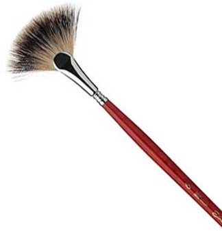 Escoda Badger Fan Brush 6