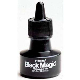 Higgins Ink Black Magic 1oz