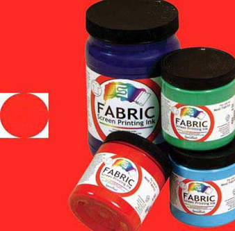 Speedball Screen Ink Fabric 8oz Red