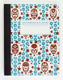 Michael Roger Press Decomposition Ruled Notebook Lucha Libre