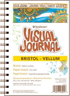 Strathmore Visual Journal Bristol Vellum 5.5x8