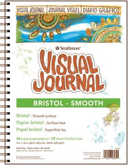 Strathmore Visual Journal Bristol Smooth 9x12