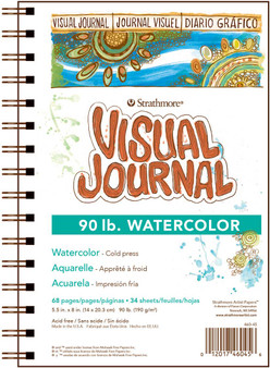 Strathmore Visual Journal Watercolor 90# 5.5x8