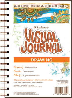 Strathmore Visual Journal Drawing 5.5x8 100lb
