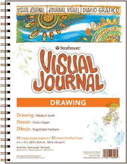 Strathmore Visual Journal Drawing 9x12 100lb