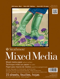 Strathmore Mixed Media 400 140lb 9x12
