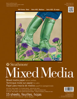 Strathmore Mixed Media 400 140lb 11x14