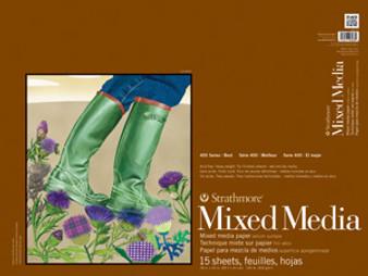 Strathmore Mixed Media 400 140lb 18x24