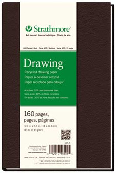 Strathmore 400 Series Recycled Drawing Hardbound Art Journal 5.5x8.5