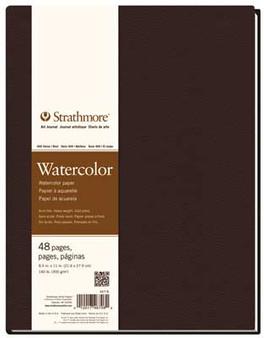 Strathmore 400 Series Watercolor Hardbound Art Journal 8.5x11