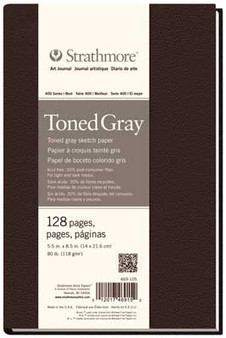Strathmore 400 Series Toned Gray Hardbound Art Journal 5.5x8.5