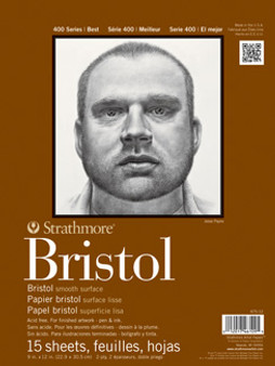 Strathmore Bristol Smooth 400 9x12