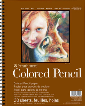 Strathmore 400 Series Colored Pencil Pad 11x14