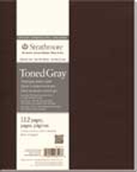 """Strathmore Softcover Toned Gray Journal 5.5x8"""""""