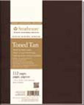 Strathmore Softcover Toned Tan Journal 7.75x9.75""