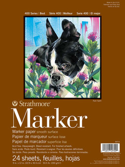 "Strathmore 400 Series Marker Pad 9x12"" 24 sheets"
