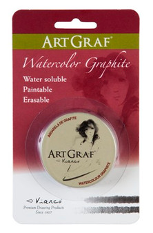Viarco ArtGraf Watersoluble Graphite Tin 20gr. Carded Package