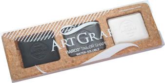 Viarco ArtGraf Tailor Shape Water-Soluble Monochromatic 3 Disc Set