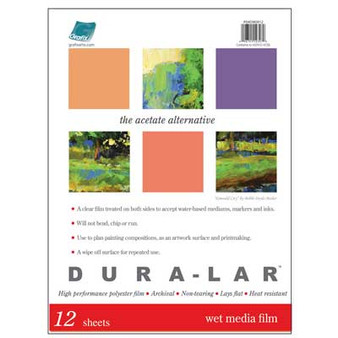 Grafix Dura-Lar Wet Media 9x12 Pad .00