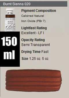 M. Graham Oil 150ml Series 1: Burnt Sienna