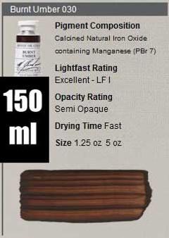M. Graham Oil 150ml Series 1: Burnt Umber