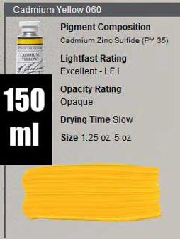 M. Graham Oil 150ml Series 6: Cadmium Yellow