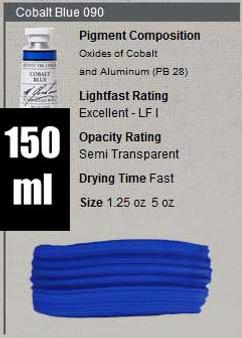 M. Graham Oil 150ml Series 6: Cobalt Blue