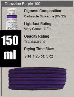 M. Graham Oil 150ml Series 3: Dioxazine Purple