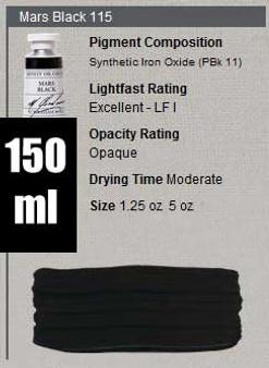 M. Graham Oil 150ml Series 1: Mars Black