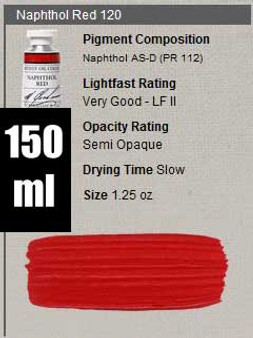 M. Graham Oil 150ml Series 3: Naphthol Red