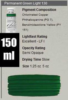 M. Graham Oil 150ml Series 3: Permanent Green Light