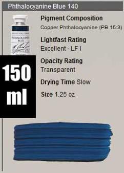 M. Graham Oil 150ml Series 3: Phthalo Blue