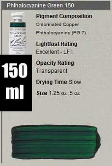 M. Graham Oil 150ml Series 3: Phthalo Green