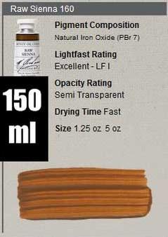 M. Graham Oil 150ml Series 1: Raw Sienna