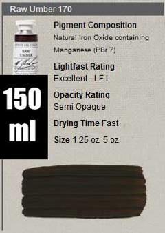 M. Graham Oil 150ml Series 1: Raw Umber