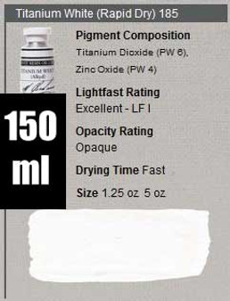 M. Graham Oil Paint 150ml Titanium White Rapid Dry