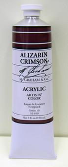 M. Graham Acrylic 5 oz Tube Alizarin Crimson