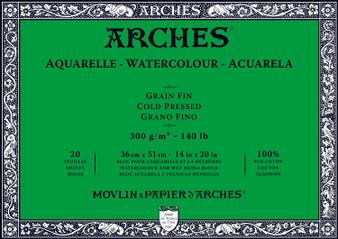 Arches Watercolor Block 140lb Cold Press 14x20