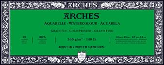 Arches Watercolor Block 140lb Cold Press 3.9x9.8
