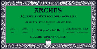 Arches Watercolor Block 140lb Cold Press 5.9x11.8