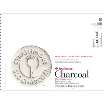 Strathmore Charcoal Pad White 18x24