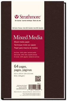 Strathmore 500 Series Mixed Media Hardbound Art Journal 5.5x8.5