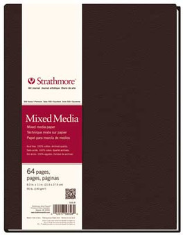 Strathmore 500 Series Mixed Media Hardbound Art Journal 8.5x11