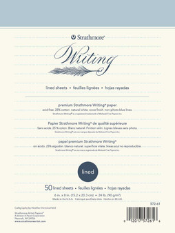 Strathmore Writing Series Lined Pad 6x8