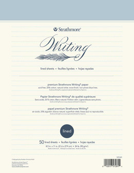 Strathmore Writing Series Lined Pad 8.5x11