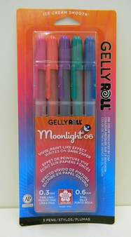 Gelly Roll Moonlight Fine 06 Set of 5- Dusk Selection