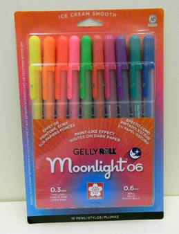 Gelly Roll Moonlight Fine 06 Set of 10