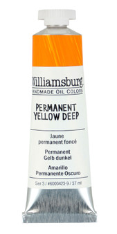 Williamsburg Handmade Oil 37ml Permanent Yellow Deep