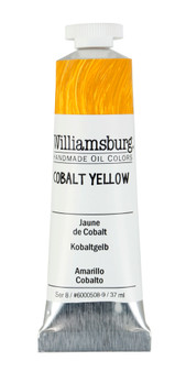 Williamsburg Handmade Oil 37ml Cobalt Yellow